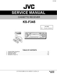Service Manual JVC KS-F345