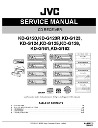 Servicehandboek JVC KD-G125