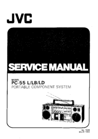 Manual de serviço JVC PC-55LD