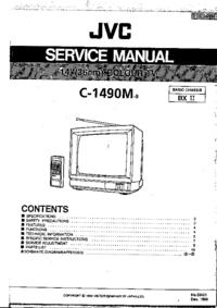 Руководство по техническому обслуживанию JVC C-1490M
