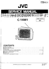 Руководство по техническому обслуживанию JVC C-14M1