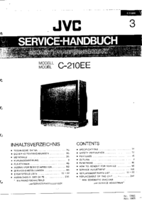 Руководство по техническому обслуживанию JVC C-210EE
