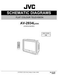 Cirquit diagramu JVC AV-2934L/ESK