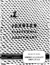User Manual Johnson Viking Kilowatt