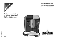 User Manual Jura Jura Impressa 300