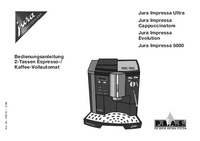 User Manual Jura Jura Impressa 5000