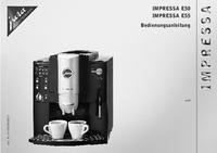 Gebruikershandleiding Jura Impressa E55