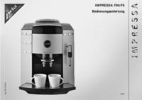 Bedienungsanleitung Jura Impressa F9