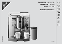 User Manual Jura Impressa X95