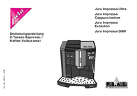 User Manual Jura Impressa 5000
