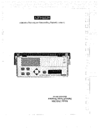 Manuale d'uso Keithley 2306