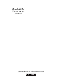 Keithley-5558-Manual-Page-1-Picture