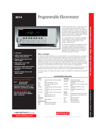 Keithley-5598-Manual-Page-1-Picture