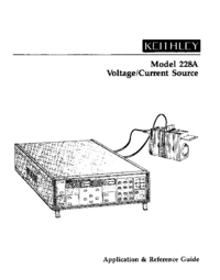 Manuale d'uso Keithley 228A