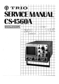 Service Manual Kenwood CS-1560A