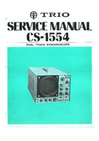 Руководство по техническому обслуживанию Kenwood CS-1554