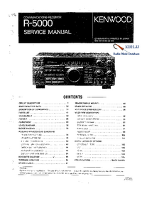 Manual de servicio Kenwood R-5000