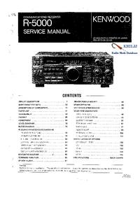 Serviceanleitung Kenwood R-5000