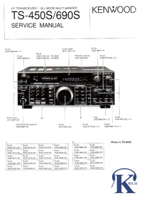 Manual de servicio Kenwood TS-450S