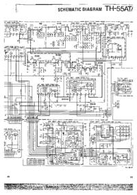 Instrukcja serwisowa, schemat cirquit tylko Kenwood TH-55AT