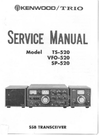 Service Manual Kenwood TS-520