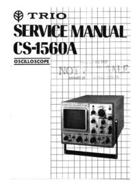 Service Manual Kenwood CS-1560A
