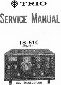 Service Manual Kenwood TS-510