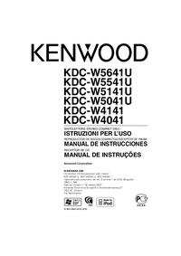 User Manual Kenwood KDC-W4141