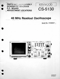 Service Manual Kenwood CS-5130