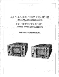 User Manual Kenwood CS-1010