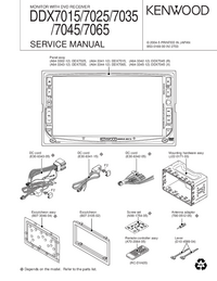 Service Manual Kenwood DDX7025