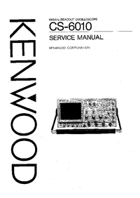 manuel de réparation Kenwood CS-6010