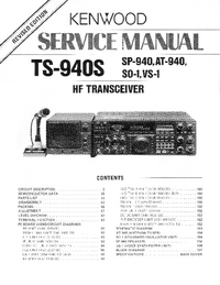 Service Manual Kenwood VO-1