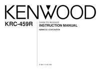 Manual do Usuário Kenwood KRC-459R
