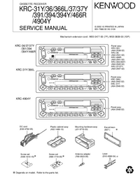 Service Manual Kenwood KRC-366L