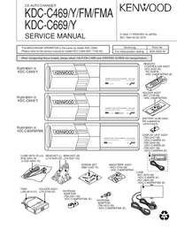Service Manual Kenwood KDC-C469 FMA