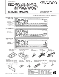 Service Manual Kenwood KDC-WV6027