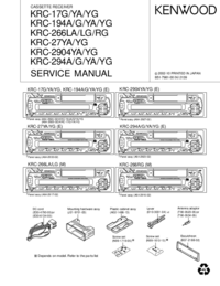 Service Manual Kenwood KRC-27 YG