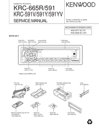 Manual de servicio Kenwood KRC-591Y