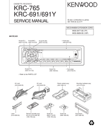 Manual de servicio Kenwood KRC-765