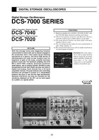 Dane techniczne Kenwood DCS-7040