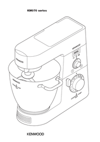 User Manual Kenwood KM070 series