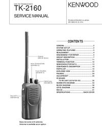 manuel de réparation Kenwood TK-2160