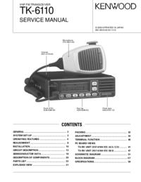 Service Manual Kenwood TK-6110