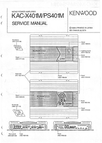Service Manual Kenwood KAC-PS401M