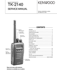 Manual de serviço Kenwood TK-2140