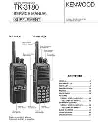 Service Manual Kenwood TK-3180 K3
