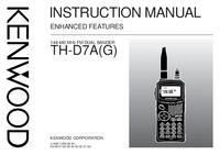 Instrukcja obsługi Kenwood TH-D7A(G)