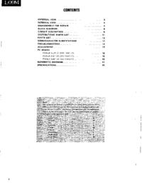 Servicehandboek Kenwood L-09M