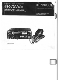 Service Manual Kenwood TR-751A